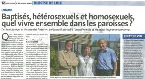 Article Synode La Croix